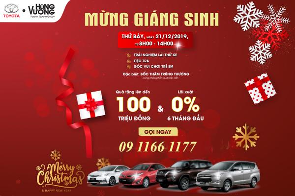 Tri Ân Khách Hàng Mừng Giáng Sinh - Toyota Hùng Vương