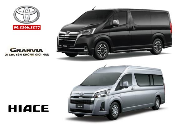 Toyota Việt Nam chính thức giới thiệu Toyota Granvia – 9 chỗ hoàn toàn mới, Toyota Hiace – 15 chỗ thế hệ mới và Toyota Land Prado 2020