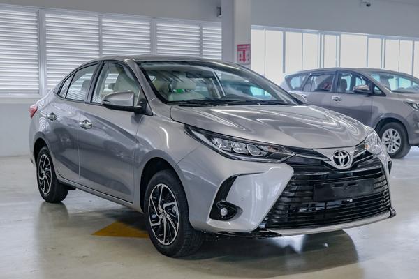 Cận Cảnh Vios 2021, Và mô tả gói trả góp 4.99 của Tài Chính Toyota