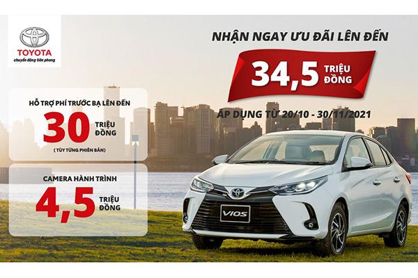 Toyota Hùng Vương Khuyến Mãi Tháng 10/2021
